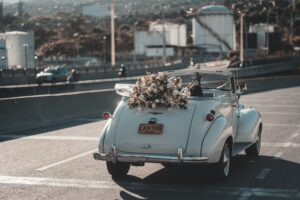 Weddings with 70's cars